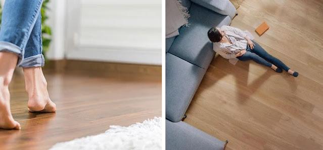 lantai kayu sehat