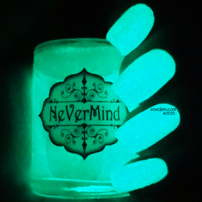xoxoJen's swatch of Nevermind Bakai