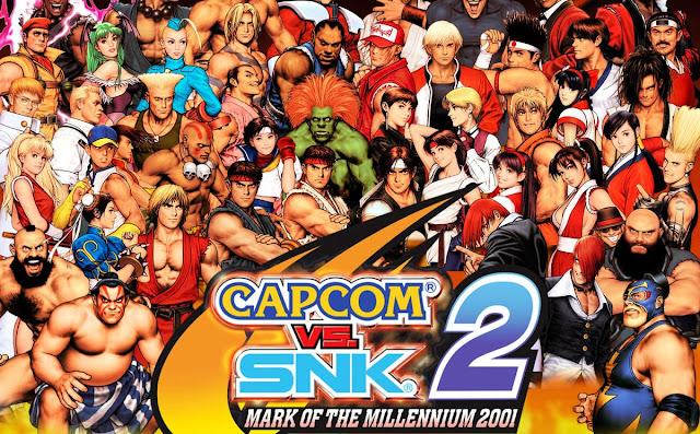 Resenha Crítica – Capcom vs SNK 2