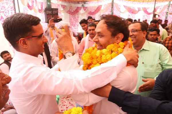 devender-chaudhary-appeal-prithla-people-to-vote-for-bjp-sohanpal-chhokar
