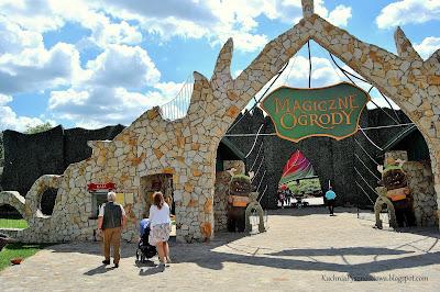 Piękna Polska: Magiczne Ogrody koło Janowca