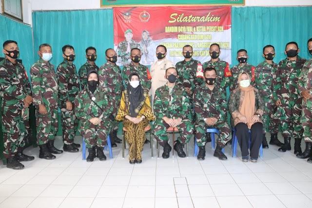 Dandim 0410/KBL Kolonel Inf Romas Herlandes, S.E.,M.Si.,M.M., Lakukan Kunjungan Jajaran Kodim 0410/KBL