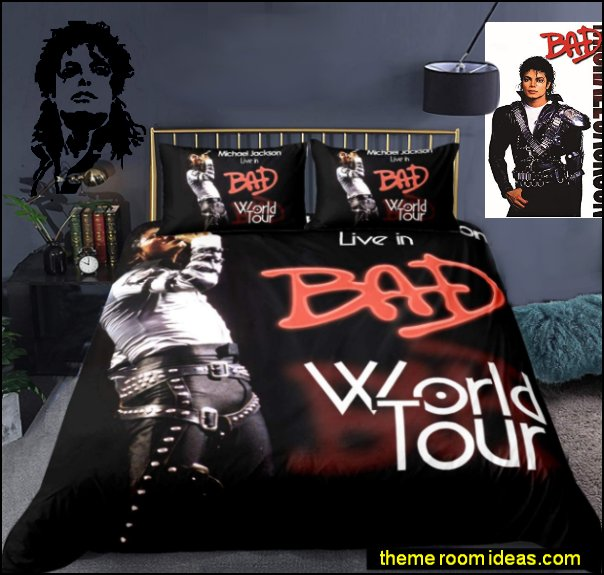 music bedroom decor Michael Jackson Wall Decor music bedding michael jackson bedding