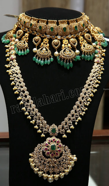 Trendy Uncut Diamond Sets by Malabar Gold