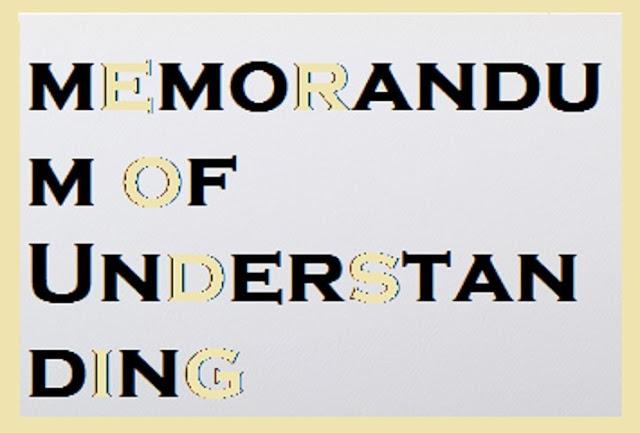 How to write a Memorandum of understanding
