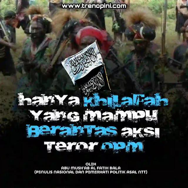 OPM alias Organisasi Papua Merdeka adalah Kelompok Kriminal Bersenjata (KKB) di Papua yang pro aktif melakukan teror. Tujuan organisasi ini adalah menyukseskan separatisme Papua dari Indonesia.