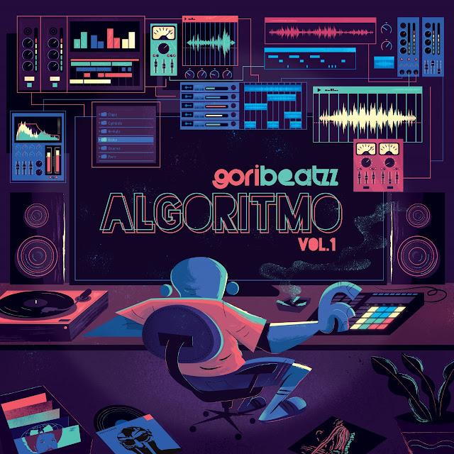 Goribeatzz lança seu primeiro álbum colaborativo intitulado Algoritmo.