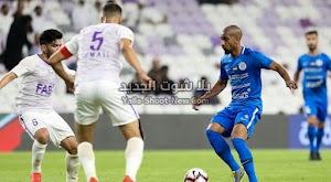 فوز كبير لفريق العين على نادي النصر في كأس الخليج العربي الإماراتي بثلاث اهداف لهدف