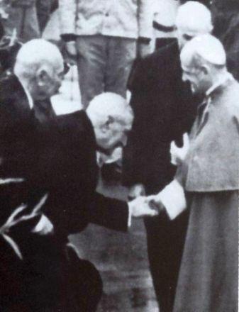 Resultado de imagem para Salazar Paulo VI 1967