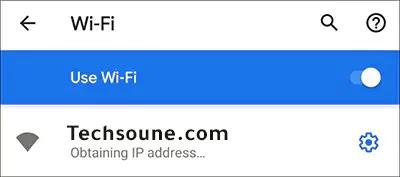 obtaining ip address