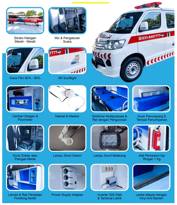 Biaya Modifikasi Ambulance