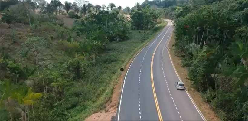 Trecho de 102 km de asfalto na Transamazônica é inaugurado
