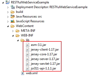 how to create web service api in java