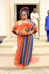 "See The Beautiful Look of Washington Based Celebrity Lady, Folashade Larewaju Famak @ Dad""s Burial"