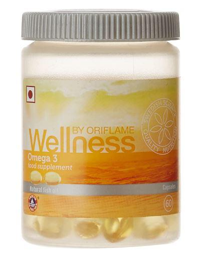 Oriflame Wellness Omega 3, 60 Capsules