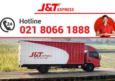 lokasi agen J&T Express di kota - kab. Bogor Jabar