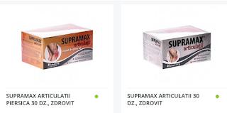 Cumpara de aici Supramax articulatii cu livrare in strainatate