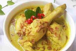 Resep Opor Ayam Kuning Spesial