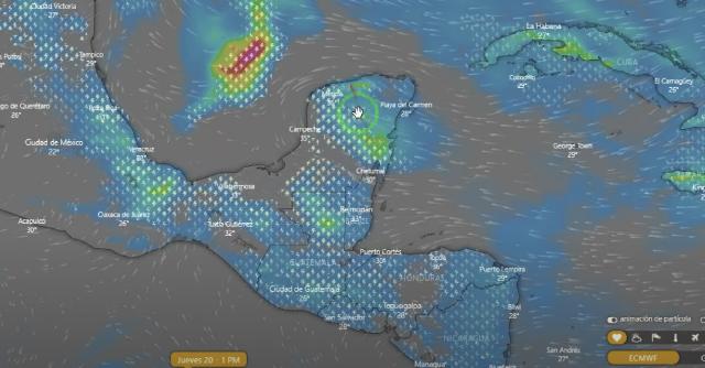Prevenidos: Intensas lluvias a partir del jueves 20 al sábado 22 en Yucatán