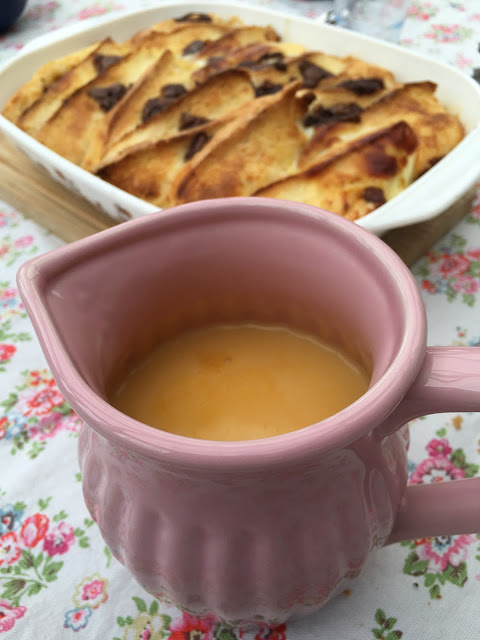 salted caramel and chocolate bread and butter pudding recipe