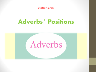 Adverbs' Positions