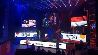 Indonesia vs malaysia sea games 2019 mobile legend