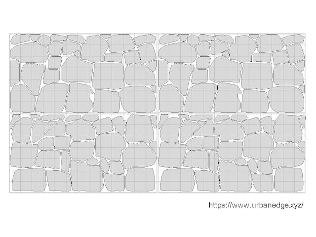 Gabion wall free cad elevation block download