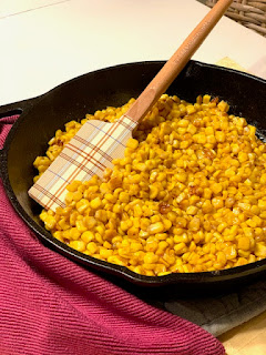 Hot Honey Skillet Corn