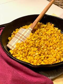 Hot Honey Skillet Corn