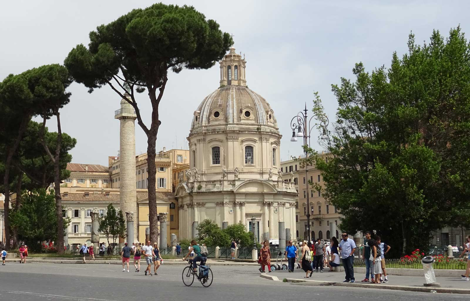 Voyage Italie Rome Forum Trajan et colonne Trajane