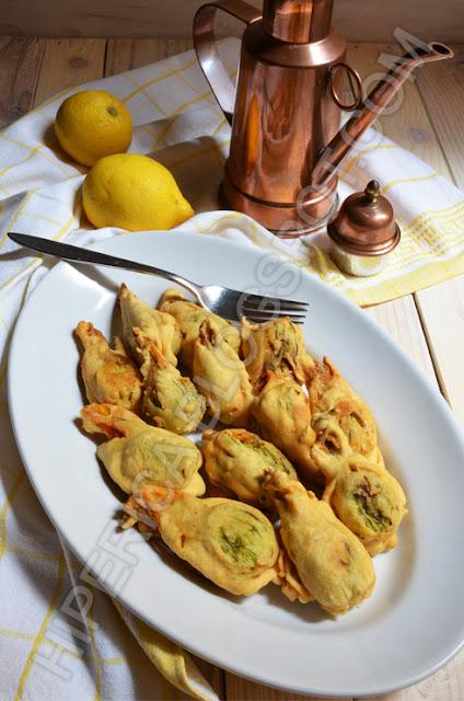 hiperica di lady boheme blog di cucina, ricette gustose, facili e veloci. Fiori di zucca ripieni vegetariani