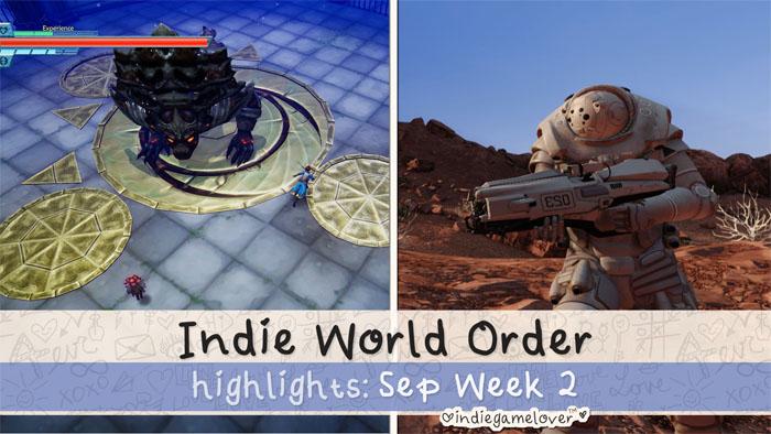 Indie World Order ❤ Sep Week 2