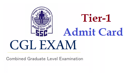 SSC CGL Tier-1 Admit Card / Hall Ticket 2016 at  | Manabadi News and Results