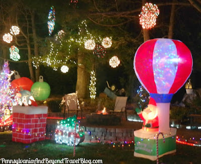 Thrush's Christmas Lights in Harrisburg, Pennsylvania
