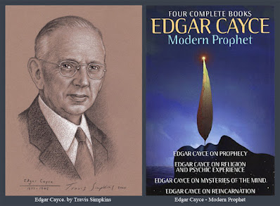 Edgar Cayce. The Sleeping Prophet. Psychic and Faith Healer. Clairvoyant. by Travis Simpkins