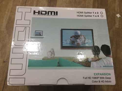 Bộ chia HDMI 1 ra 4 giá sỉ và lẻ rẻ nhất