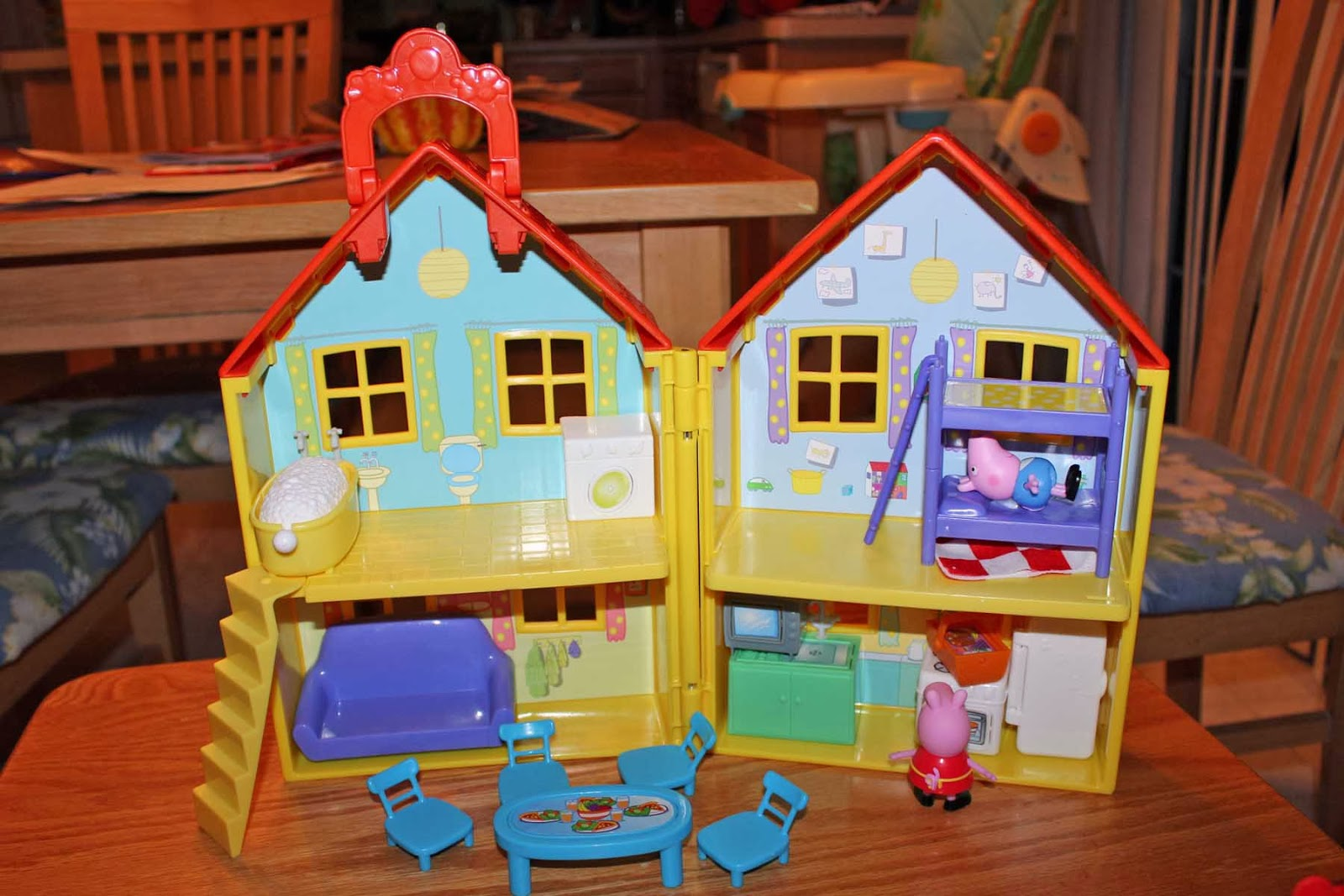Katie S Nesting Spot Peppa Pig Toys Perfect For Holiday