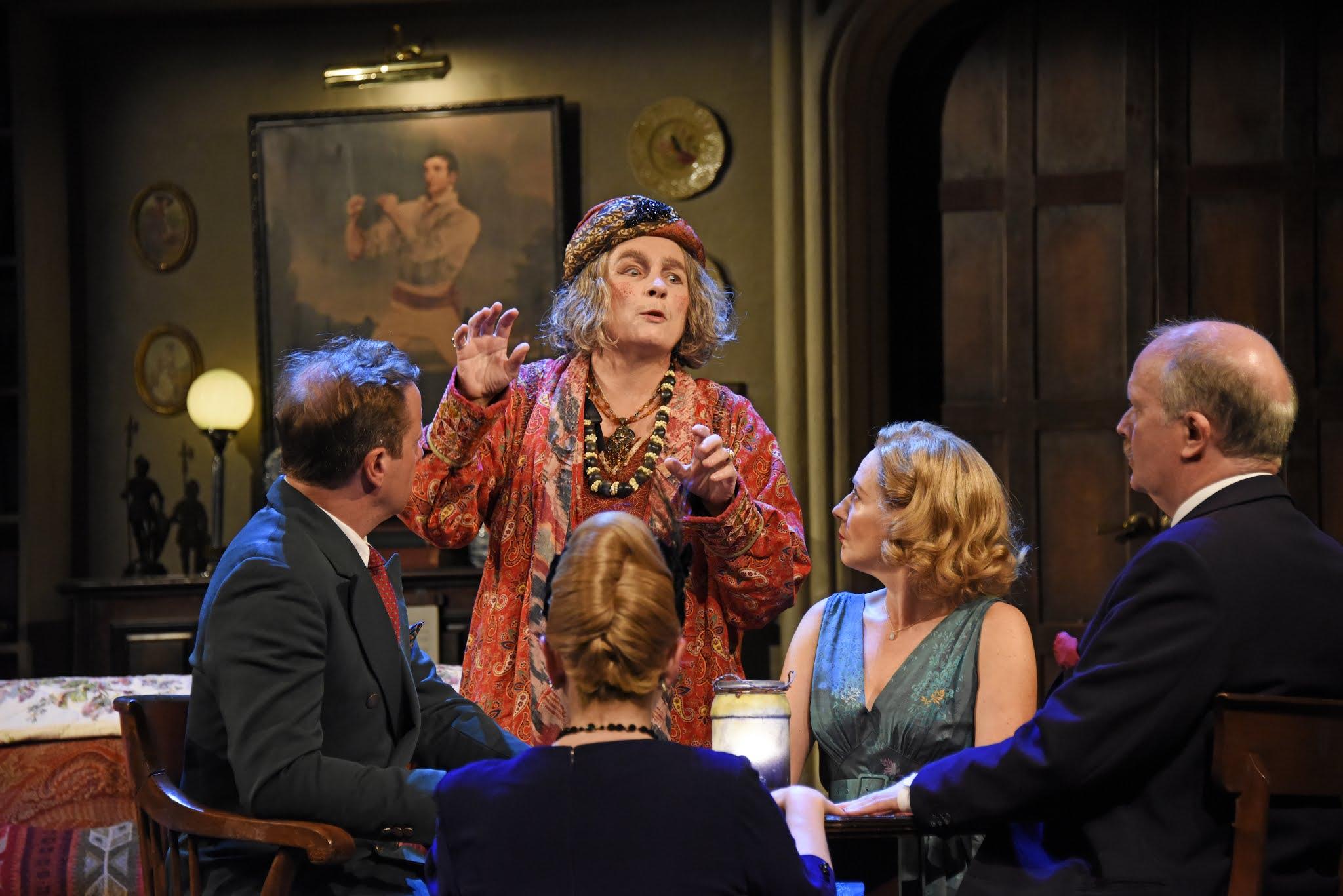 Review: Blithe Spirit, Harold Pinter Theatre, London ★★★☆☆