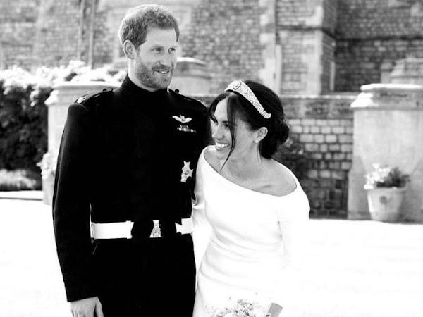 Nowe zdjęcie księcia i księżnej Sussex ze ślubu! + 2 000 000 wejść na bloga.