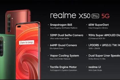 Official Firmware Realme X50 Pro 5G RMX2076