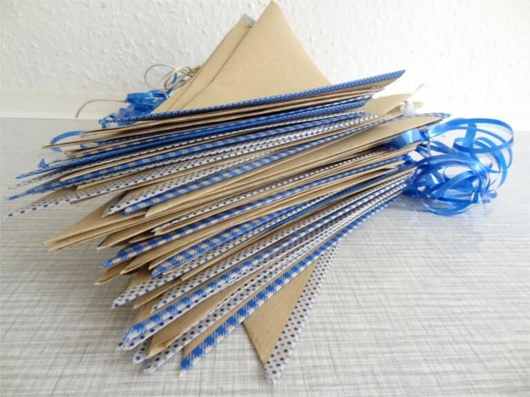 DIY-Anleitung für Papiertüten Candy Bar auf der Hochzeit - schönes DIY für die Braut