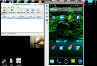 Cara Tampilkan Layar android Ke PC (Split Screen)