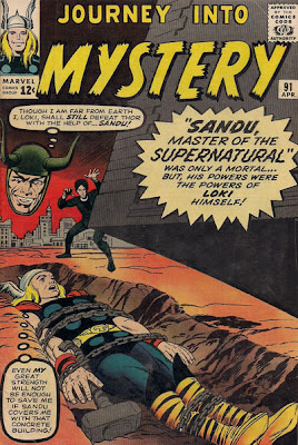 Journey into Mystery #91, Sandu, Thor in chains