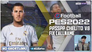 Download FINAL!! PES 2022 PPSSPP Android CV8 Full Europa & Fix Callname English Version