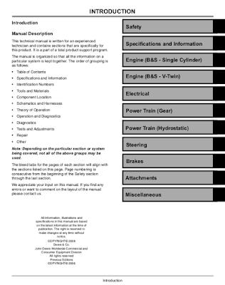Repair Parts Workshop Manuals PDF: John Deere JD 544B