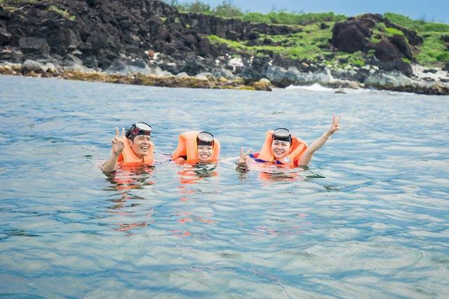 Đảo Bé là lặn ngắm san hô