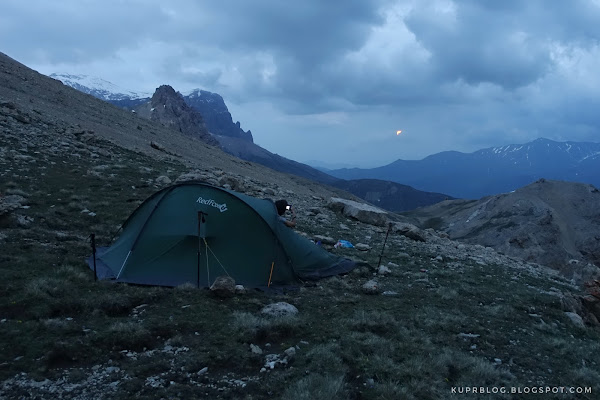 Лагерь на стороне Шахяйлага