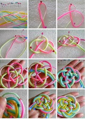 Çin Düğümü Takı Yapımı
