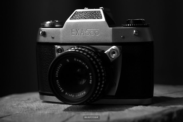 Exa 500 + Meyer-Optik Görlitz Domiplan 50mm F/2.8-22