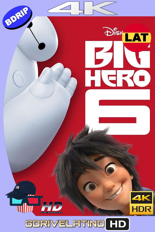 Grandes Heroes (2014) BDRip 4K HDR Latino-Ingles MKV